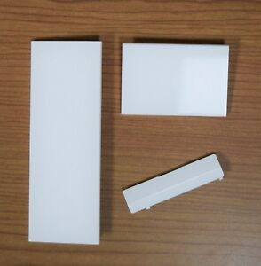 3 NEW WHITE Replacement Door Slot Cover Lid Set for Nintendo Wii Console System