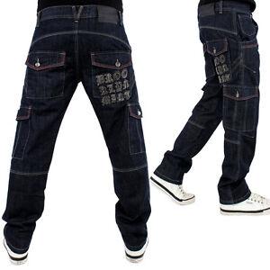 Brooklyn-Mint-Vaqueros-cargo-Combat-Star-pantalones-hip-hop-G-bar-ETO-bar