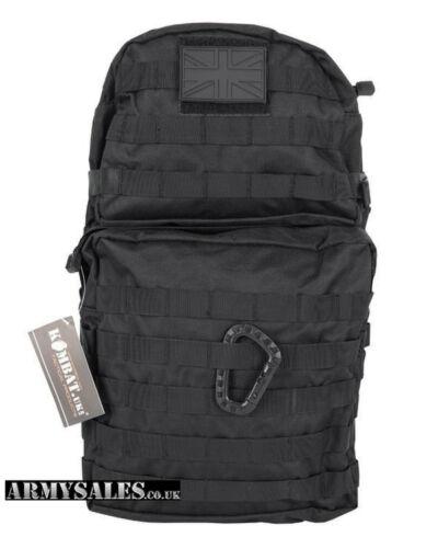 Rucksack Tactical Black Molle 40L Assault Pack by Kombat UK Backpack