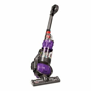 Dyson Toy Vacuum with Real Suction, Cyclone Action and Sounds - Gray/Purple