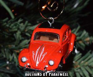 Image Is Loading 039 62 Custom Volkswagen Beetle Christmas Ornament Vw