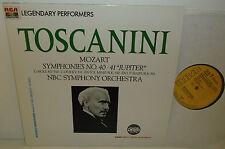 GL 85238  Mozart Symphonies 40 & 41 NBC Symphony Orchestra Arturo Toscanini