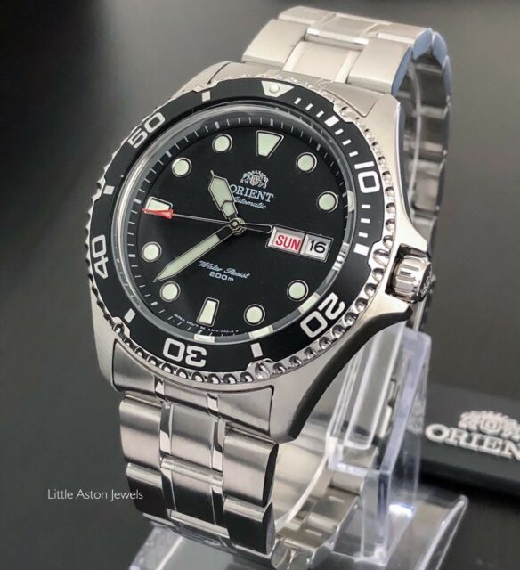 Orient Ray II Mens Automatic Power Reserve 200M Watch FAA02004B9 Brand New