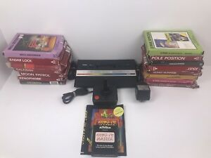 Atari-2600-Vintage-Retro-Gaming-Console-In-Original-Box-W-16-Games-PAL