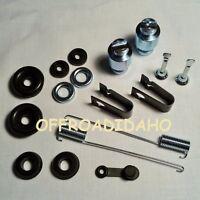 Front Brake Shoe Wheel Cylinder Rebuild Kit Honda Trx450fe/fm Foreman E Es 02-04