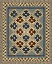 New Pieced Quilt Sampler Pattern 72 x 88