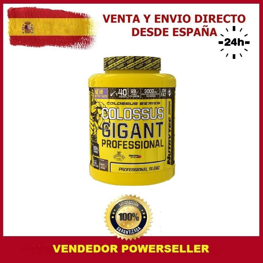 COLOSSUS GIGANT PROFESSIONAL 4KG  Sabor CHOCOLATE / GANADOR GANADOR / DE PESO - NUTRYTEC 0c0b31