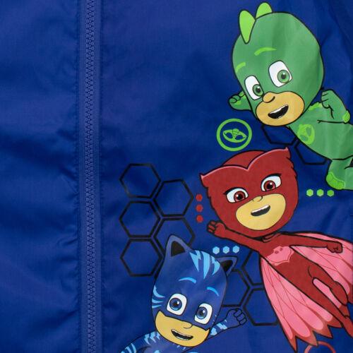 PJ Masks RaincoatBoys PJ Masks MacKids Catboy Owlette and Gekko Jacket