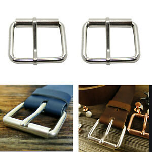 50mm Metal Buckle with Slider /& Teeth Adjuster DIY//Replacement Belt//strap craft