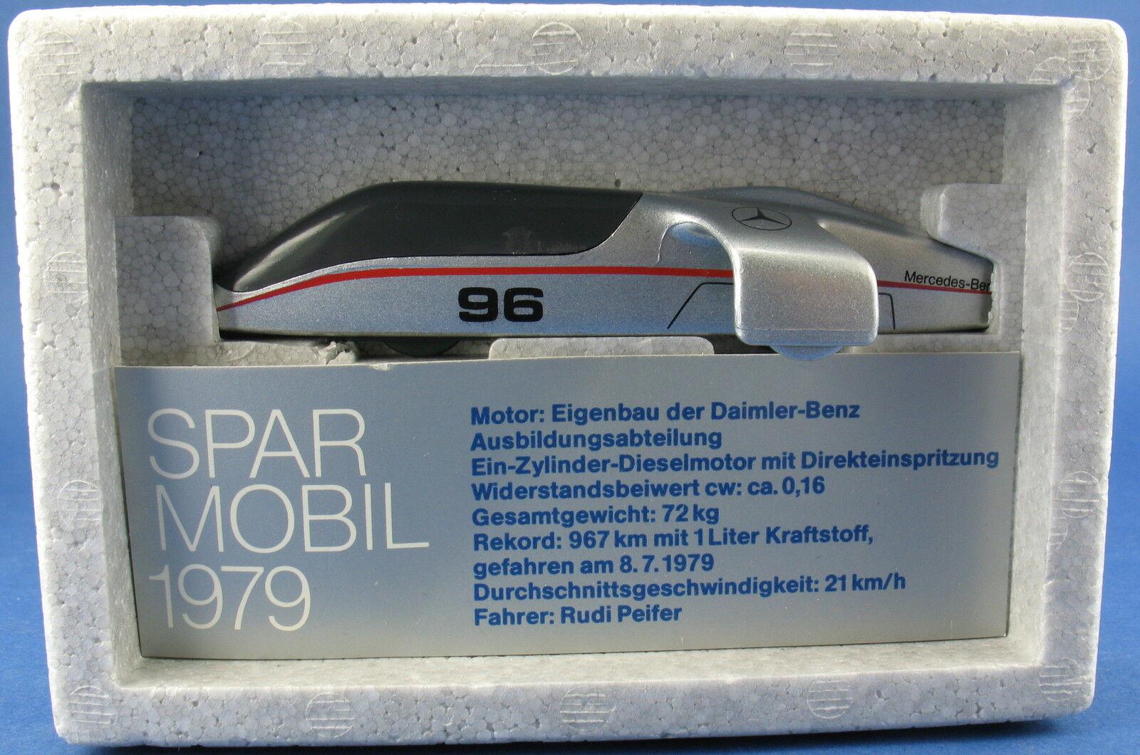 Curseur modèle 1081-Mercedes-Benz  sparmobil 1979 - 10,7 cm-voiture miniature  shopping en ligne