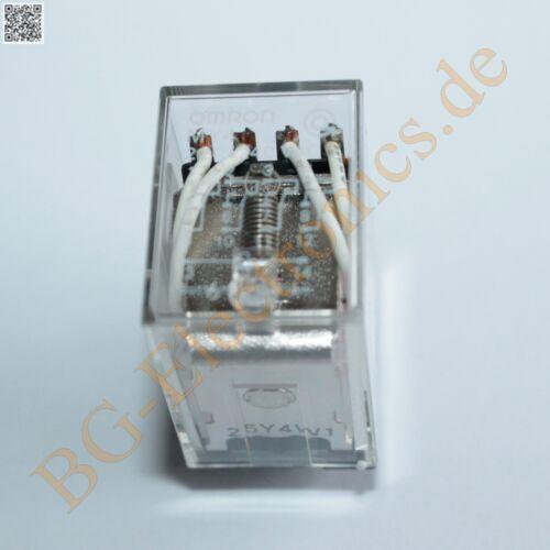 1 x MY4-220 240AC Industrierelais 36mm 21,5mm 28mm 1 MY4-220//240VAC Omron  1pcs