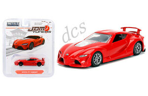 Toyota Ft 1 >> Details About Jada Jdm Tuners Toyota Ft 1 Concept 1 64 Diecast Model Car Red 14036