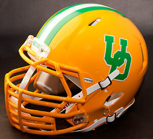 Image is loading CUSTOM-OREGON-DUCKS-NCAA-Riddell-SPEED-REPLICA-Football- 24a8c4d51
