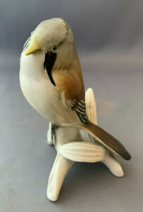 Karl-Ens-Handpainted-Bird-Figure-Unusual
