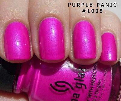 China Glaze Nail Polish - Roses & Pinks - 14ml - You Choose - Postage Combined