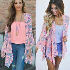 Fashion Women Summer Loose Shawl Kimono Cardigan Chiffon Tops Blouse Cover Up