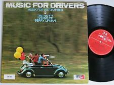Berry Lipman Music for drivers 2 RARE MPS BASF in-crauti LP MINT -