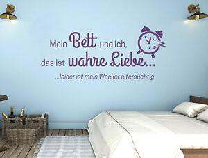 Wandtattoo Schlafzimmer Teenager Jungenzimmer Jugendzimmer Mein Bett Und Pkm296 Ebay