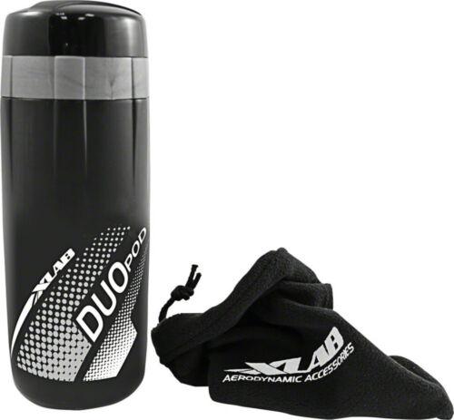 XLAB Duo Cage Pod Black 2 compartments 600ML 83ML Waterproof Microfleece bag