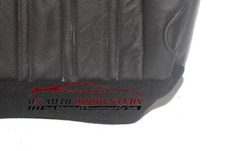 2004 04  Ford F350 Harley-Davidson Passenger Bottom Black Leather Seat Cover