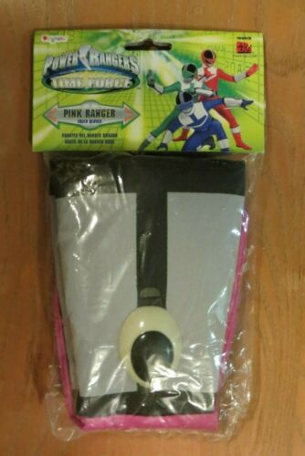 Saban/'s Power Ranger Time Force Child Gloves Pink Ranger  NWT