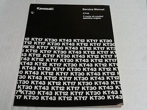 kawasaki kt-43 engine service manual,kawasaki small engine   ebay