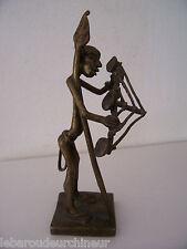 petite statue en bronze Afrique. African statue