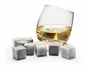 tolles geschenk f r whisky liebhaber 6 rocking whiskey gl ser 9 whiskey steine ebay. Black Bedroom Furniture Sets. Home Design Ideas