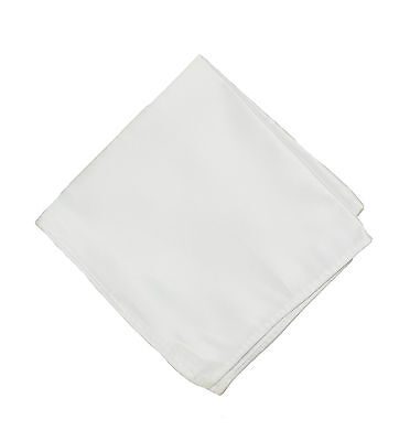 Plain Solid Color Pocket Handkerchief - Unisex Fashion Hanky For All Occations