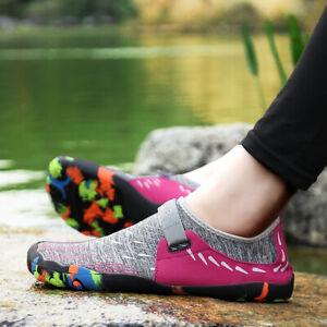 Womens Water Shoes Quick Drying Aqua Beach Surf Sports Casual Walking Shoes