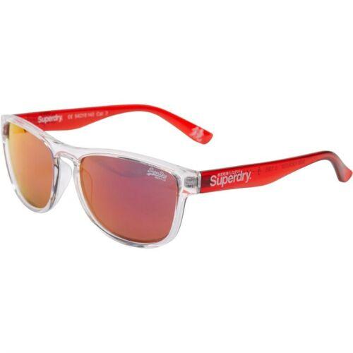 Superdry Rockstar Lunettes de soleil Clear Red