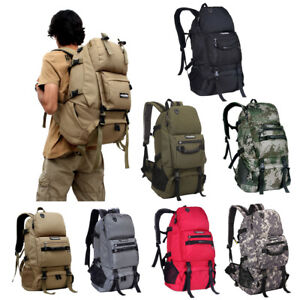 40L-Backpack-Rucksack-Bag-Outdoor-Camping-Hiking-Travelling-Amy-Military-Sport