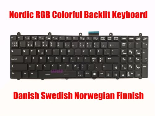 Nordic RGB backlit keyboard for MSI  GT70 MS-1756//GT70 MS-1762//GT70 MS-1763