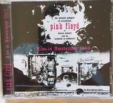 """PINK FLOYD : """"Live In Amsterdam 1969"""" (RARE CD)"""