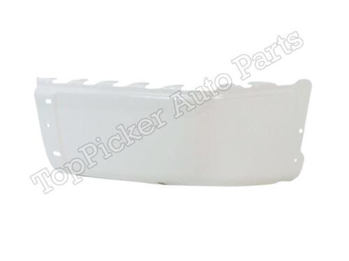 Painted White Rear Bumper Cap//End RH For 2007-2013 Silverado Sierra W//O Hole New