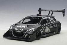 1:18 AUTOart PEUGEOT 208 T16 PIKES PEAK PRESENTATION CAR (BLACK)
