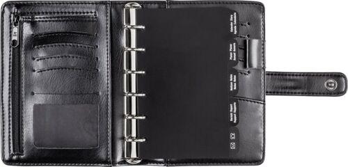 Rido Timing3 Timeplaner 2020 schwarz für Einlagen 7,6x12,7cm mit Geldscheinfach