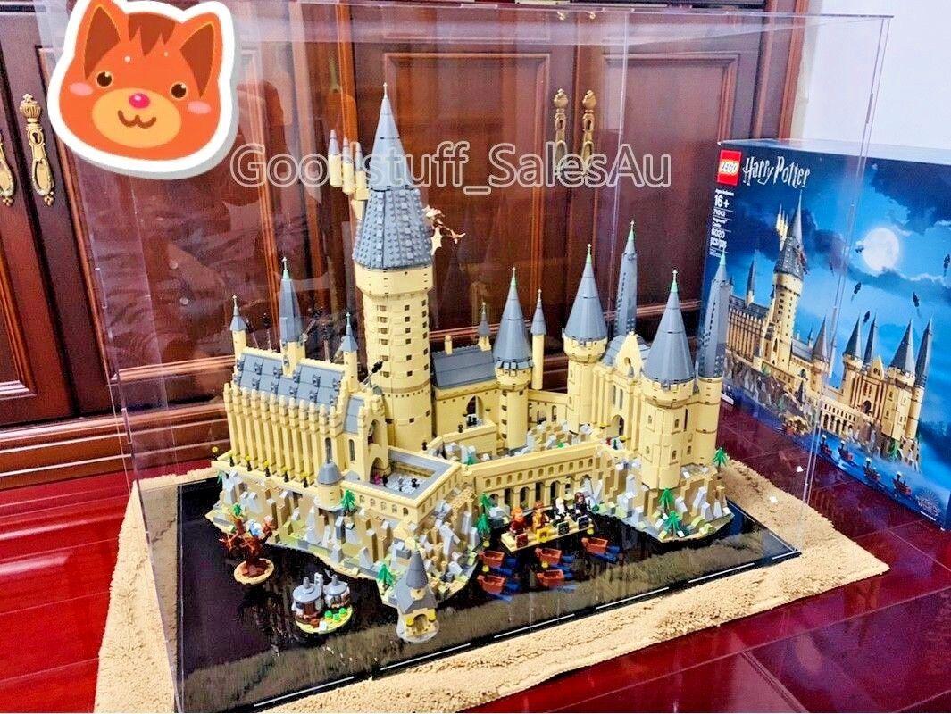 Lego display case  for Lego Harry Potter Hogwarts Castle 71043  ( Aus Seller)  le plus en vogue