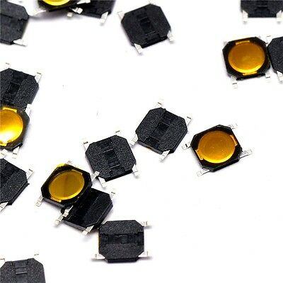 100pcs 4*4*0.8mm Tactile Push Button Switch Tact Switch Micro Switch 4-Pin SMD