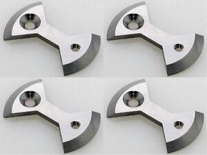 RockBros Ti Pedal Plate//Bow tie* 4pcs Light Action Ti Color