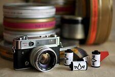 5 x Fuji Eterna SuperSlow C41 NO-REMJET! Rare 35mm Film lomo cinestill
