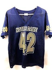 2ce2a0380 Pro Edge Womens Notre Dame Fighting Irish Football Jersey Large 11 ...