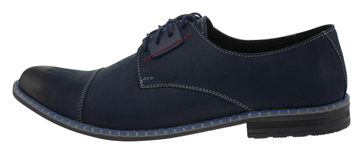 Zapato 331 Leather Business Lace-Ups Navy 186682
