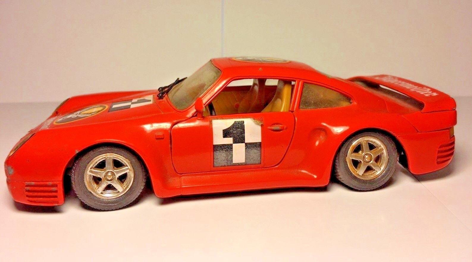 1988  Porsche 959 Die Cast 1 24 Escala Coche Revell-RARE -