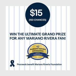 15-150-Chances-Entry-Win-Ultimate-Grand-Prize-for-Any-Mariano-Rivera-Fan