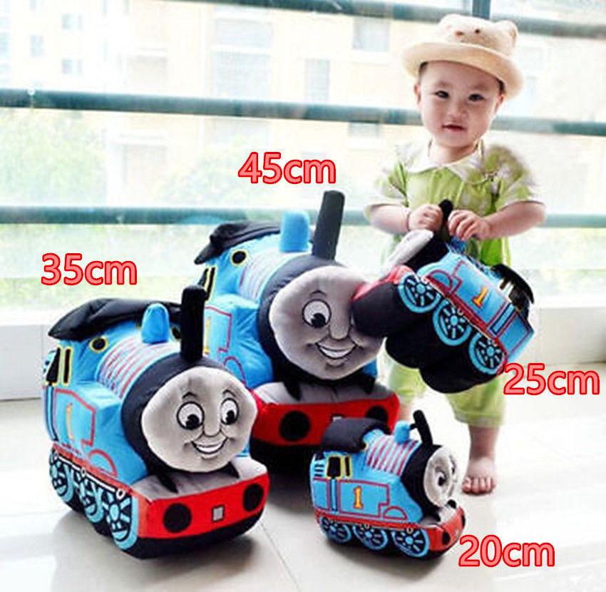 45cm Thomas The Tank Motor, och vänner Plush Train mjuk Stuffing ungar Talking leksak