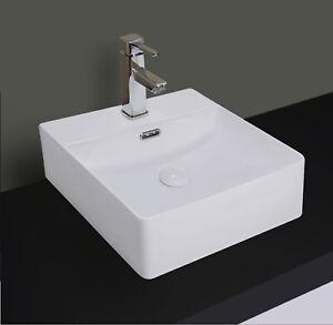 Winzo 16 5 Slim Square Bathroom Sink W