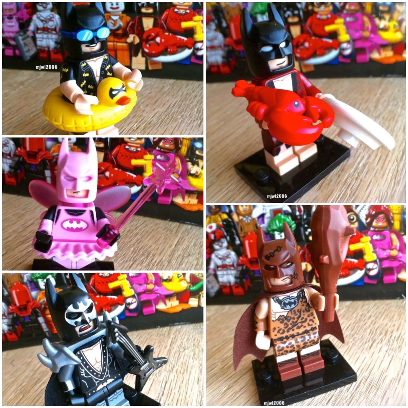 negozio a basso costo 71017 THE LEGO LEGO LEGO BATuomo MOVIE Lobster Glam Fairy Caveuomo Vacation 5Minifigs SEALED  alta qualità genuina
