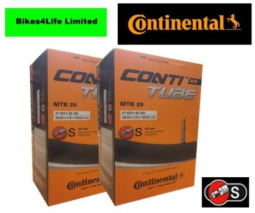 CONTINENTAL 29 X 2.3  PV BIKE INNER TUBE PRESTA VALVE QUANTITY RATE OPTIONS