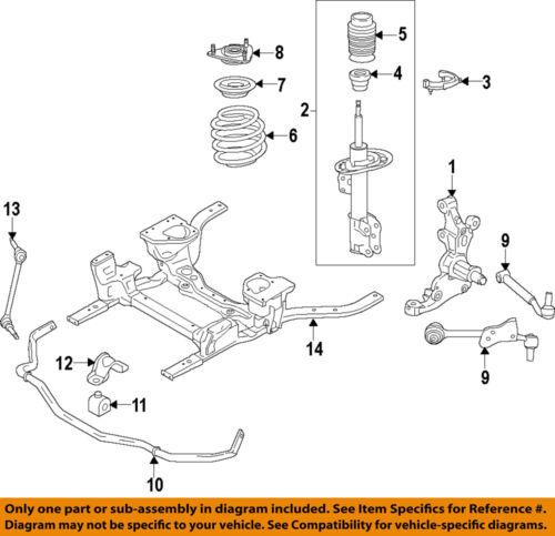 FORD OEM 15-17 Mustang Front Suspension-Strut Mount FR3Z3A197B